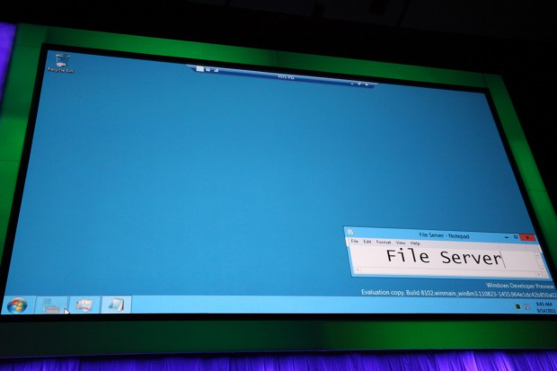 Virtueller Fileserver mit WIndows Server 8