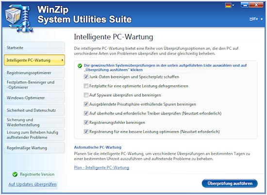Winzip PC Tuner (Bild: Winzip)