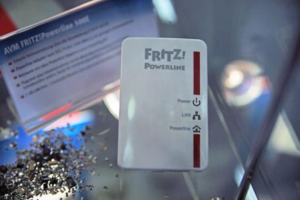 AVM Fritz-Powerline 500E auf der Ifa 2011 (Bild: Golem.de)