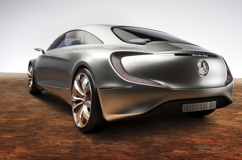 Mercedes-Zukunftsauto F125: Der Wasserstoff steckt in der Karosserie - Mercedes-Forschungsauto F125 (Bild: Daimler/Mercedes)