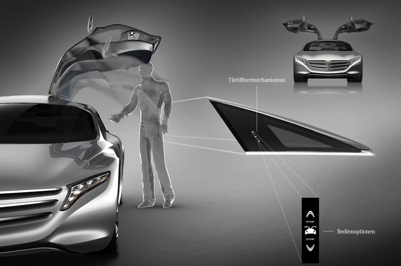 Mercedes-Zukunftsauto F125: Der Wasserstoff steckt in der Karosserie -