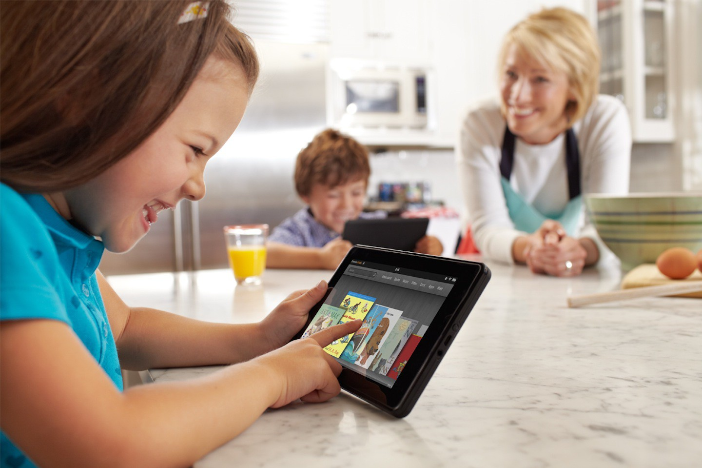 Kindle Fire: Amazons Android-Tablet mit Cloud-Anbindung - Android-Tablet Kindle Fire (Bild: Amazon)