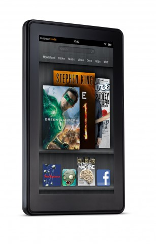 Android-Tablet Kindle Fire (Bild: Amazon)