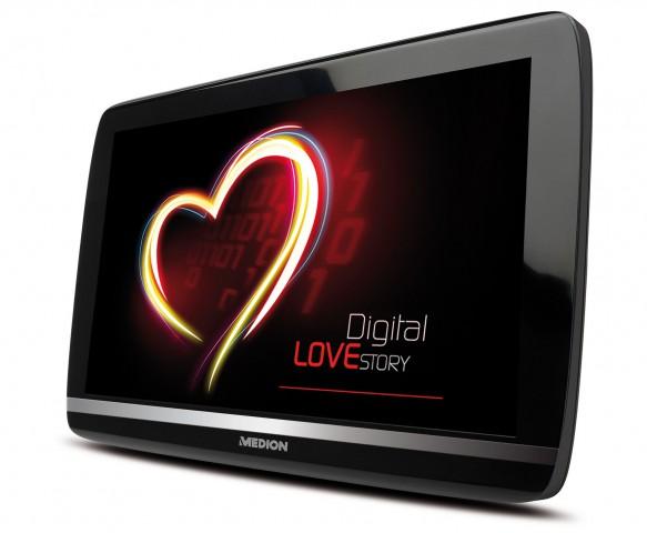 Medion Lifetab P9514 - so soll das 10-Zoll-Tablet ungefähr aussehen, wenn es fertig ist. (Bild: Medion)
