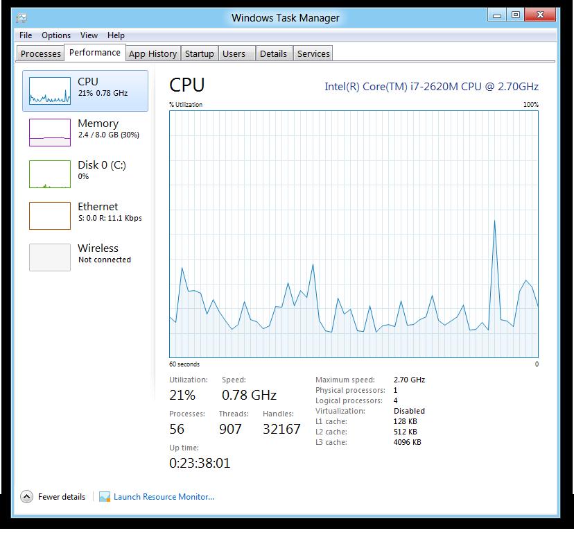 Microsoft: Windows 8 erhält integrierten Passwortmanager - Task Manager von Windows 8