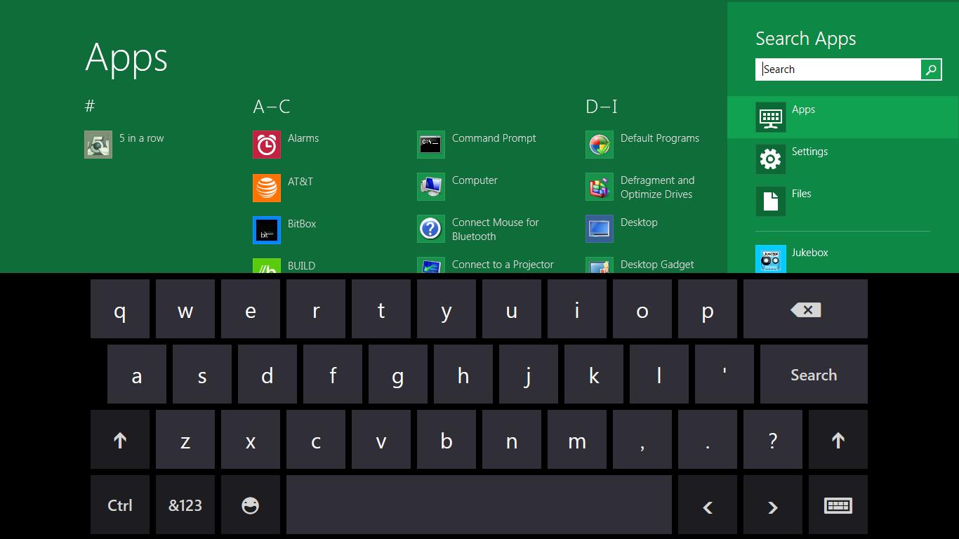 Internet Explorer 10: Microsoft propagiert pluginfreie Websites - Virtuelle Windows-8-Tastatur