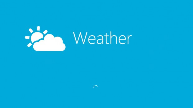 Windows 8: Wetter-App