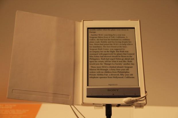Reader Wi-Fi PRS-T1 - Sonys neuer E-Book-Reader (Foto: Werner Pluta/Golem.de)