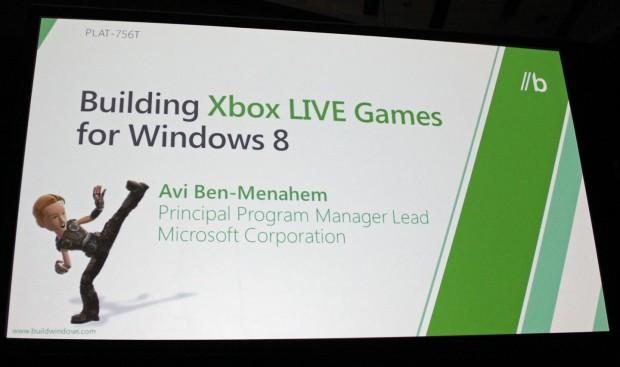 Präsentation von Xbox Live für Windows 8 (Bild: Jens Ihlenfeld)