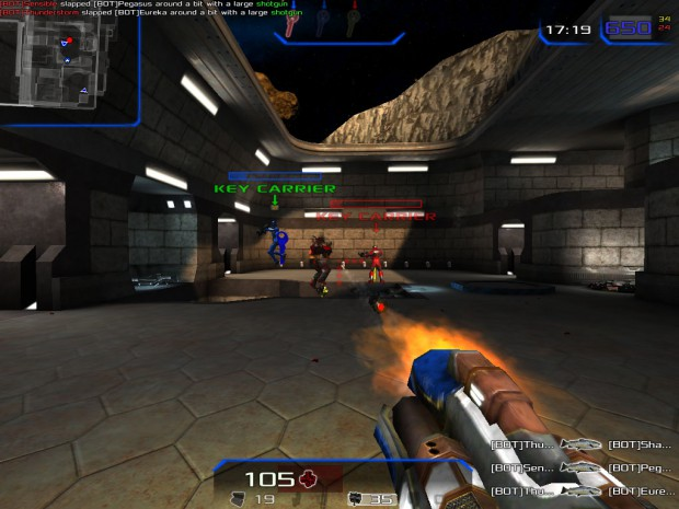 Xonotic 0.5.0 (Screenshot: Golem.de)