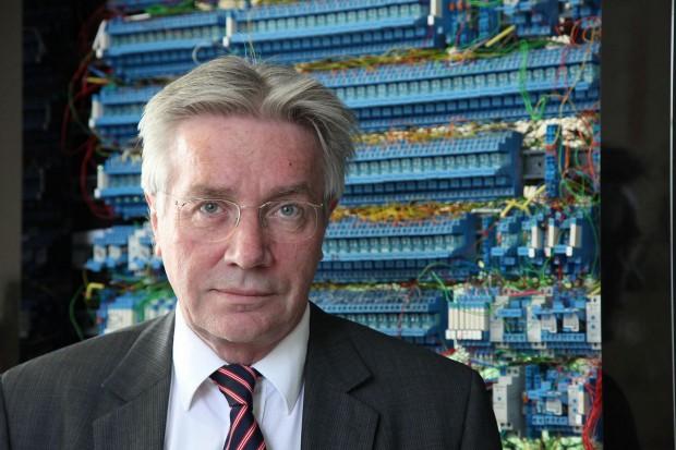 Horst Zuse, emeritierter Informatiker und Sohn des Computerpioniers Konrad Zuse (Foto: Werner Pluta)