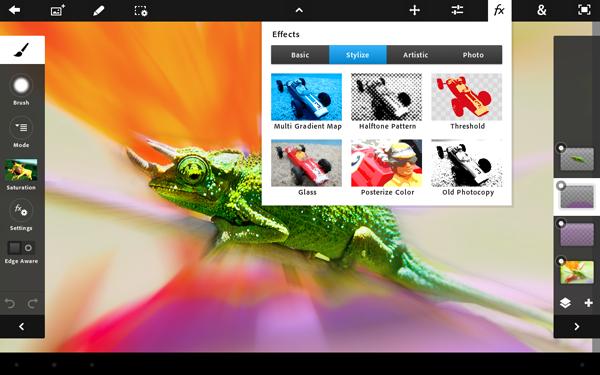 Adobe Photoshop Touch (Bild: Adobe)