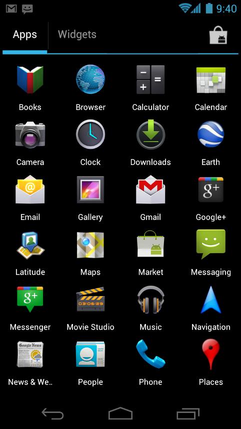 Galaxy S2 und Galaxy Note: Samsung bringt Android 4.0 im ersten Quartal 2012 - Programmstarter von Android 4.0