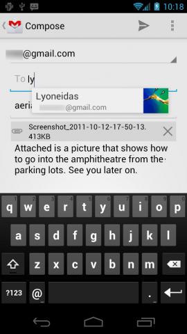 Neuer Google-Mail-Client mit verbesserter Bildschirmtastatur