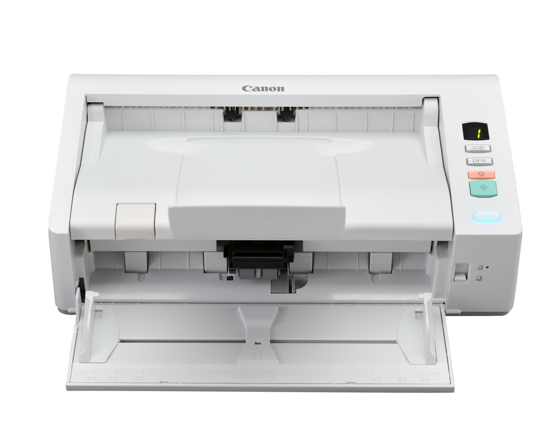Canon: Schreibtischscanner für die Tischschublade - Canon Imageformula DR-M140 (Bild: Canon)