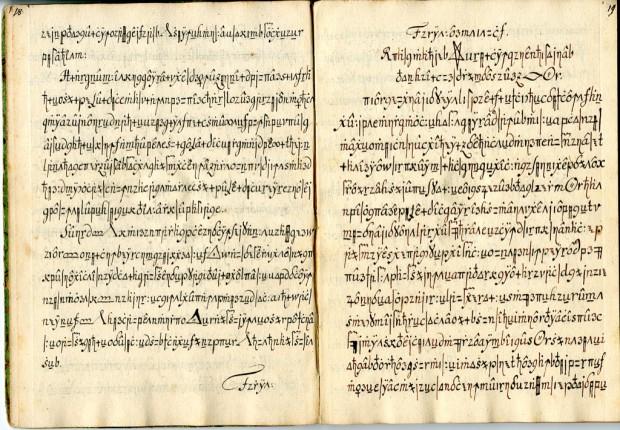 Der Codex Copiale (Bild: Universität Uppsala)