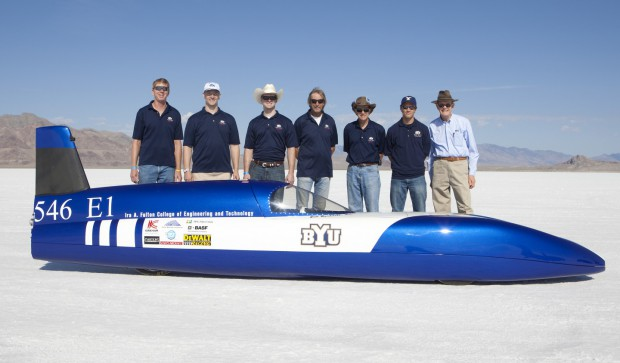 Electric Blue und Team (Bild: Brigham Young University)