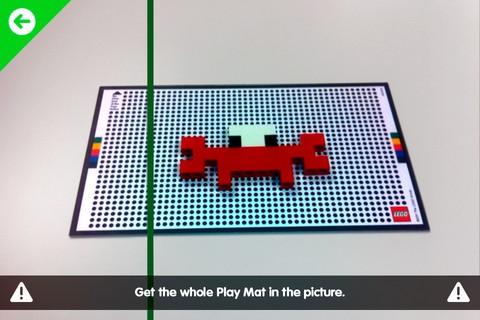 Kalibrierung der Mustererkennung in Life of George (Bild: Lego)