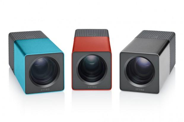 Lytro-Lichtfeldkamera in verschiedenen Farbstellungen (Bild: Lytro)