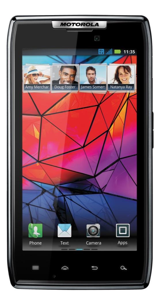 Motorola Razr: Android-Smartphone in dünnem Kevlargehäuse kostet 500 Euro - Motorola Droid Razr (Bild: Motorola)