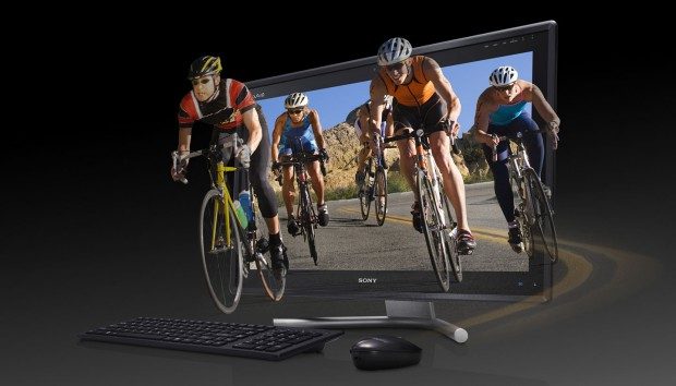Mit Touchscreen und 3D-Brille - Sonys All-in-One-PC Vaio L-Serie VPCL22Z1E/B (Bild: Sony)