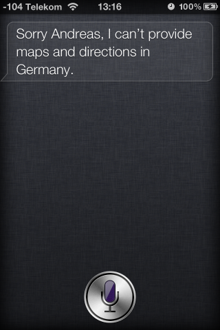 Schade: Kartenmaterial gibt es in Deutschland nicht.