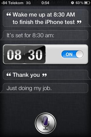 Wer will, der kann zu Siri auch freundlich sein.