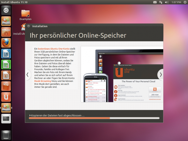 ... den Cloud-Dienst Ubuntu One von Canonical ...