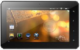 Amiga-Tablet Xpedio 7MTB mit 7-Zoll-Touchscreen (Bild: Amiga Inc.)