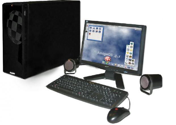 Amigaone X1000 - bald sollen die Vorbestellungen losgehen. (Bild: A-Eon/Amigakit)