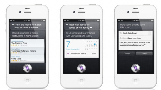 Apples iPhone-Spracherkennung und -synthese Siri (Bild: Apple)