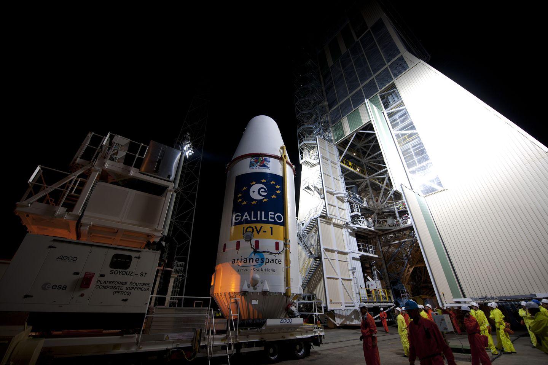 Galileo: Die ersten Satelliten starten in Kourou -