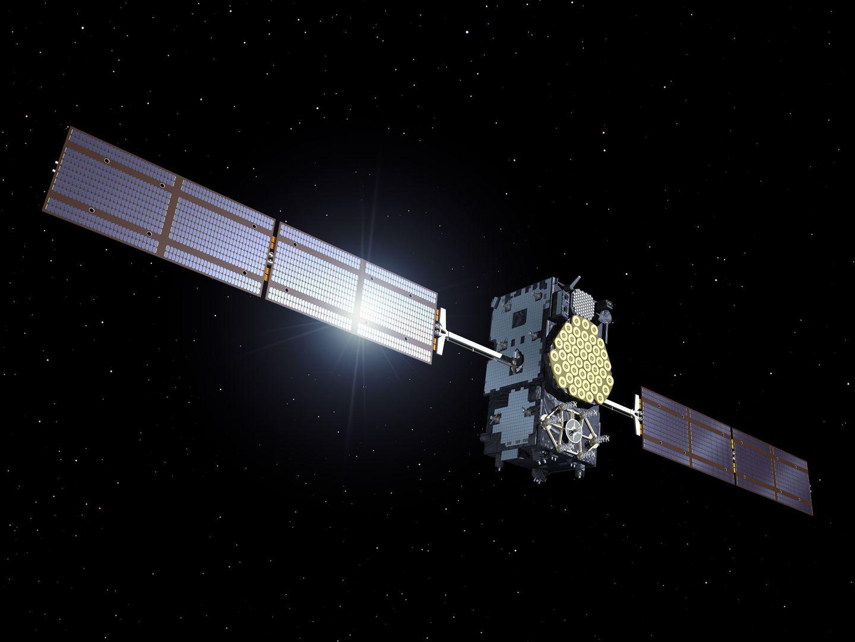 Galileo: Die ersten Satelliten starten in Kourou - So soll der Satellit im Einsatz sein. (Bild: Esa)