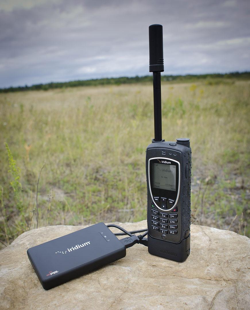 Internet überall: Satellitentelefon Iridium Extreme wird ausgeliefert -