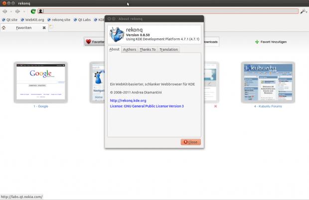 Über die PPA-Repositories von Ubuntu ist bereits die Entwicklerversion 0.85 erhältlich.