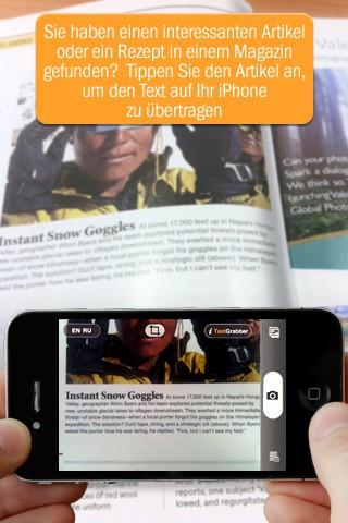 Abbyy TextGrabber + Translator (Bild: Abbyy)