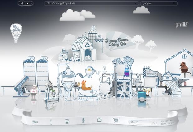 Nicht realisierte Entwürfe von Alex Faaborg für Firefox: Vollbildmodus