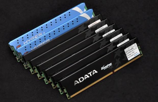 56 GByte RAM, jetzt auch für Desktops (Fotos: Nico Ernst)