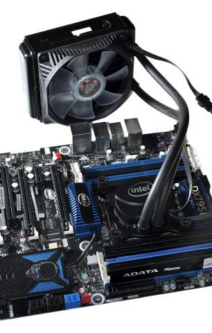 Intels Wasserkühlung