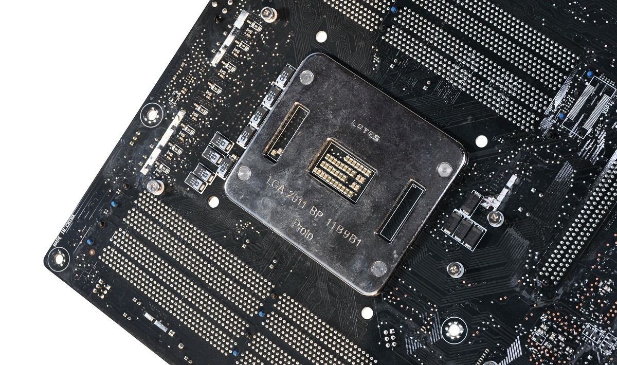 CPU Core i7-3960X im Test: Sechs Kerne gegen 56 GByte RAM - Die Backplate ist fest vorgeschrieben