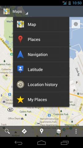 Google Maps 6.0 für Android (Bild: Google)