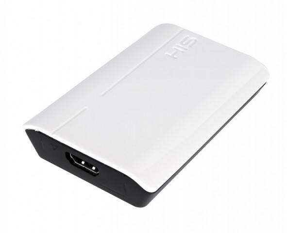 HIS Multi-View+Sound USB 3.0 - Blick auf die HDMI-Schnittstelle (Bild: Hersteller)