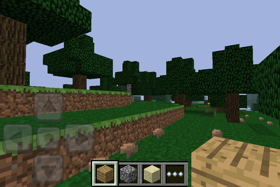 Minecraft: Klötzchen auf iOS - Minecraft - Pocket Edition auf iOS