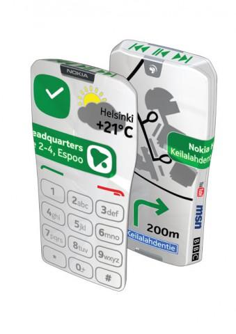 Nokia Gem: Das ganze Telefon wird zum Touchscreen.