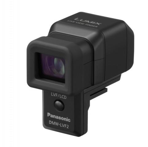 Aufstecksucher für die Panasonic Lumix DMC-GX1 (Bild: Panasonic)