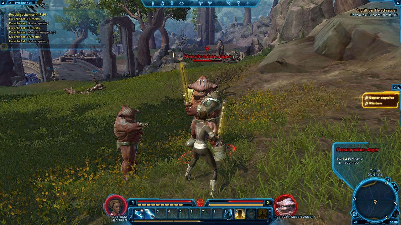 Star Wars: Die ersten 60 Minuten in The Old Republic - Star Wars: The Old Republic