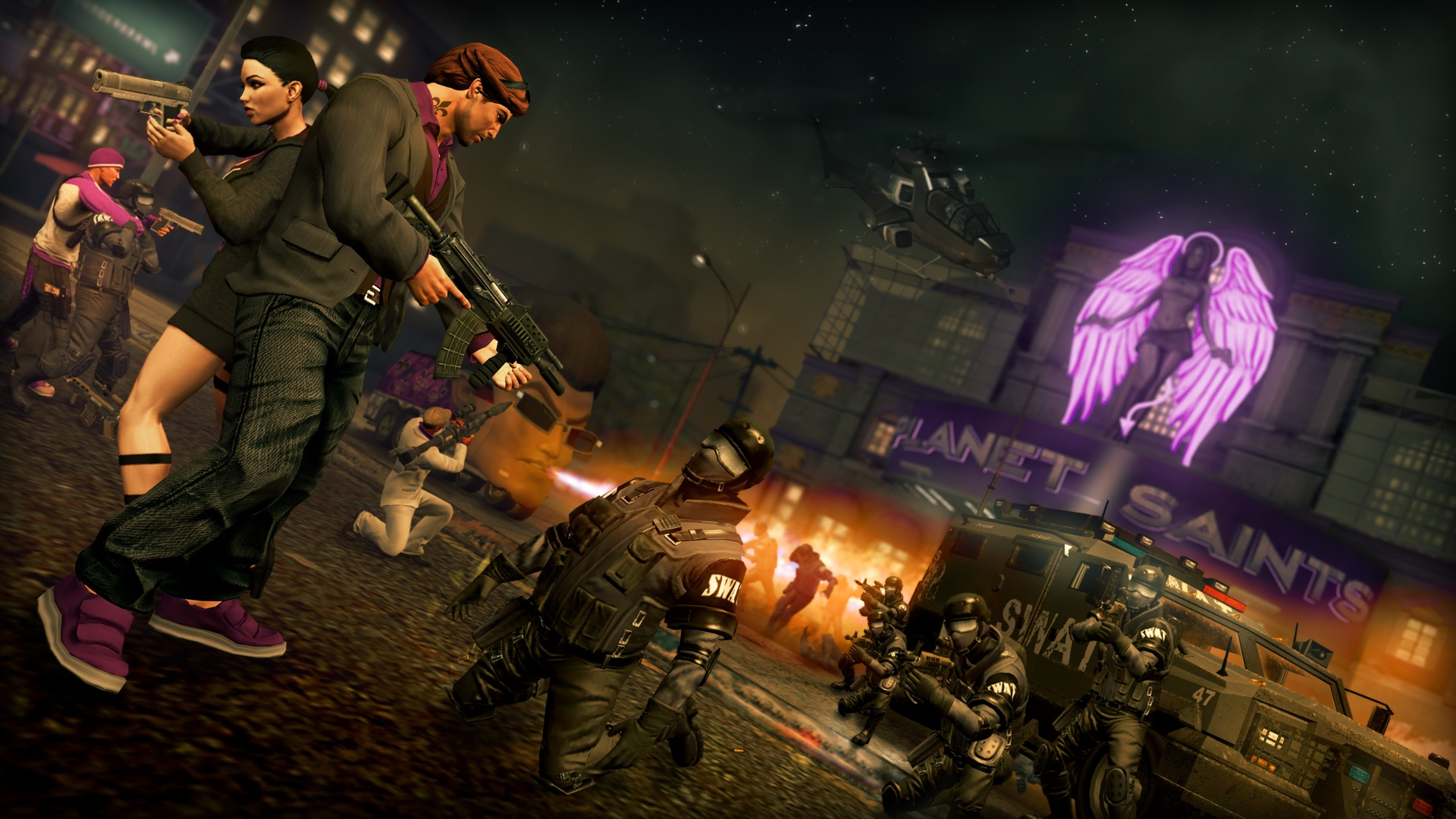 Test Saints Row 3: Gangster mit Dildos in Haha-Hasenkostümen - Saints Row: The Third