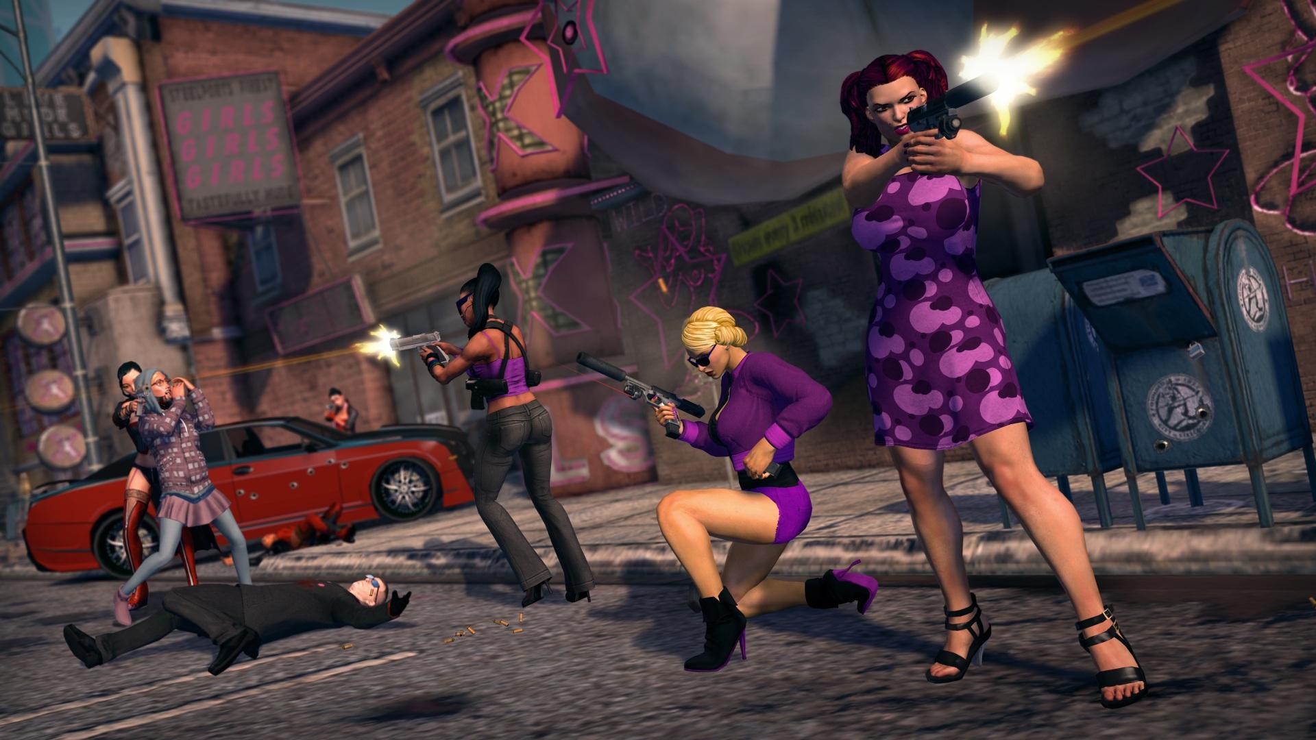 Test Saints Row 3: Gangster mit Dildos in Haha-Hasenkostümen - Saints Row: The Third