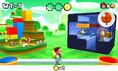 Test Super Mario 3D Land: Kreatives Retrofeuerwerk mit Waschbär-Mario - Pro Welt erwarten den Spieler vier Levels.