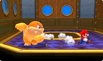 Test Super Mario 3D Land: Kreatives Retrofeuerwerk mit Waschbär-Mario - Die Koopa-Familienmitglieder sind die Endgegner ab der zweiten Welt.